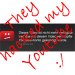 Youtube Account gehackt