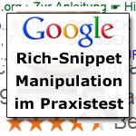 Google Rich Snippet Manipulation
